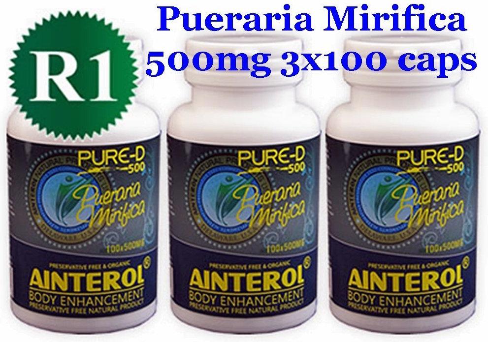 Pueraria Mirifica male breast enlargement